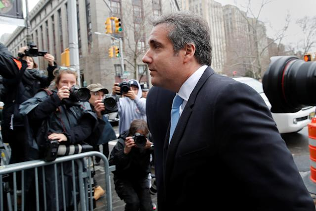 Trump attorney Michael Cohen. (Photo: Mike Segar/Reuters)