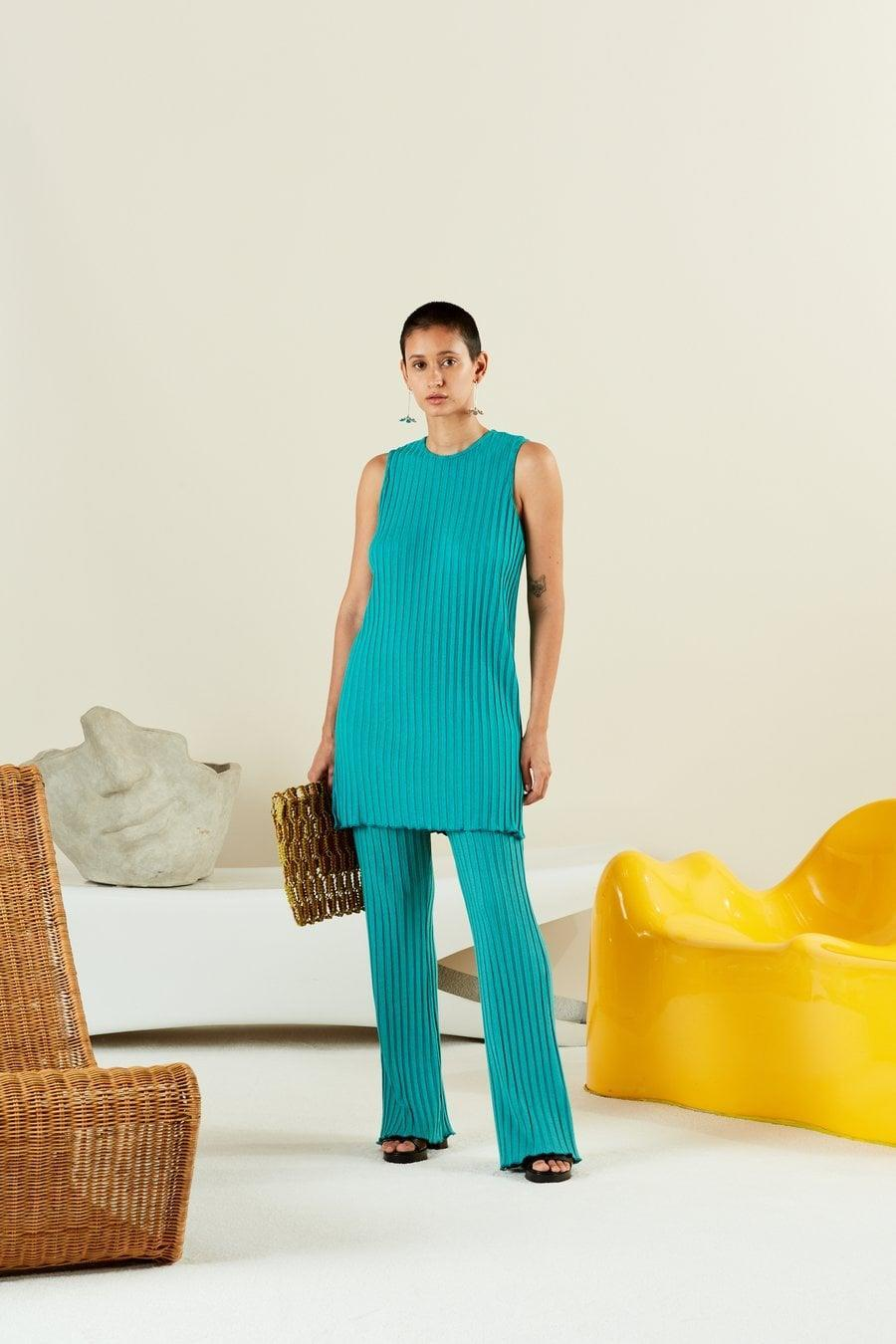 <p>Chic and versatile, this <span>Simon Miller Rib Aukai Tunic</span> ($150) doubles as a mini dress. Just add a pair of block-heel sandals or ankle boots.</p>