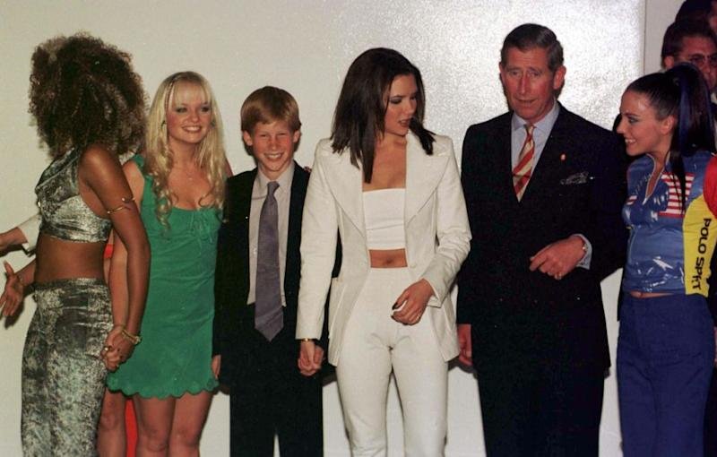 The Spice Girls have a long history with the royal family. Photo: Getty Images