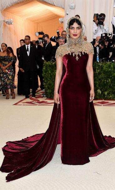 PHOTO: Priyanka Chopra attends the Heavenly Bodies: Fashion & The Catholic Imagination Costume Institute Gala at The Metropolitan Museum of Art on May 7, 2018 in New York City. (Frazer Harrison/FilmMagic/Getty Images, FILE)