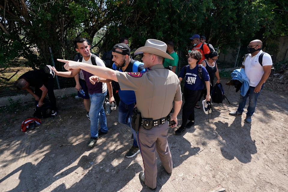Immigration Texas (Copyright 2021 The Associated Press. All rights reserved.)
