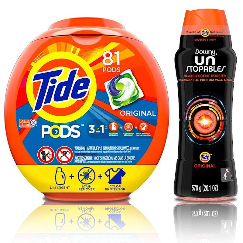 Tide Pods HE Turbo Laundry Detergent Packs, Original Scent (Photo: Amazon)