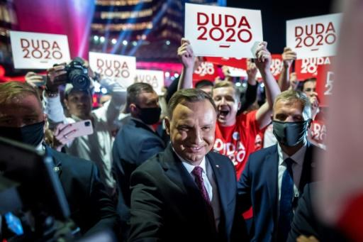 Polish President Andrzej Duda is a key ally for the government