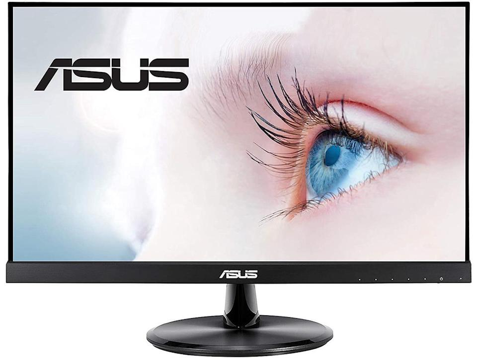 Several ASUS monitors are designed to reduce blue light emissions, display flicker and glare to mitigate eye and vision problems like Computer Vision Syndrome.