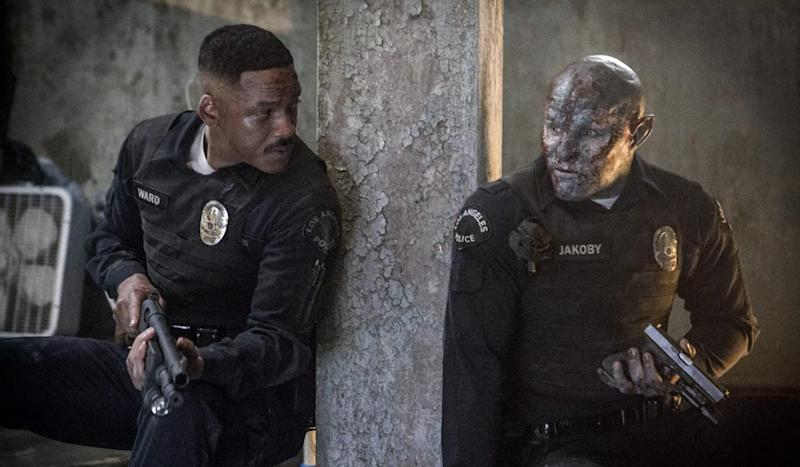 'Bright' Featurette Breaks Down Human/Orc Relationship and Magic Wands