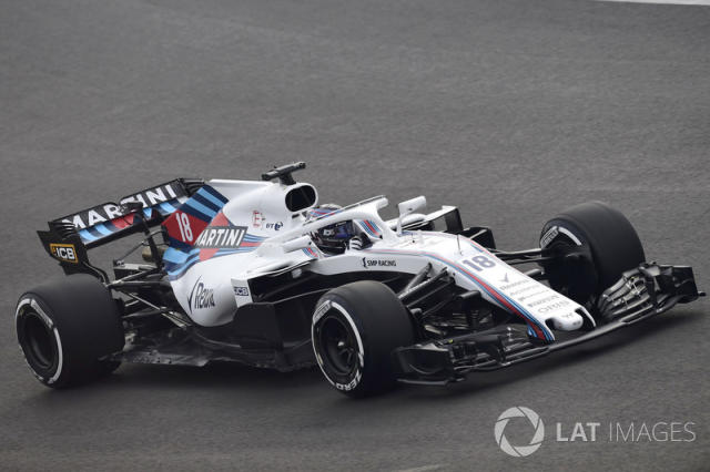 "Lance Stroll, Williams FW41 <span class=""copyright"">Sutton Motorsport Images</span>"