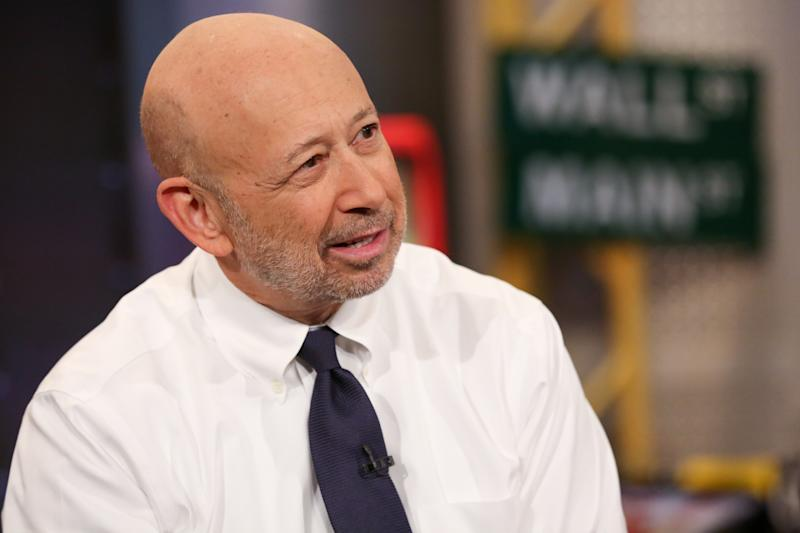 Lloyd Blankfein sees something in the market that 'unnerves' him
