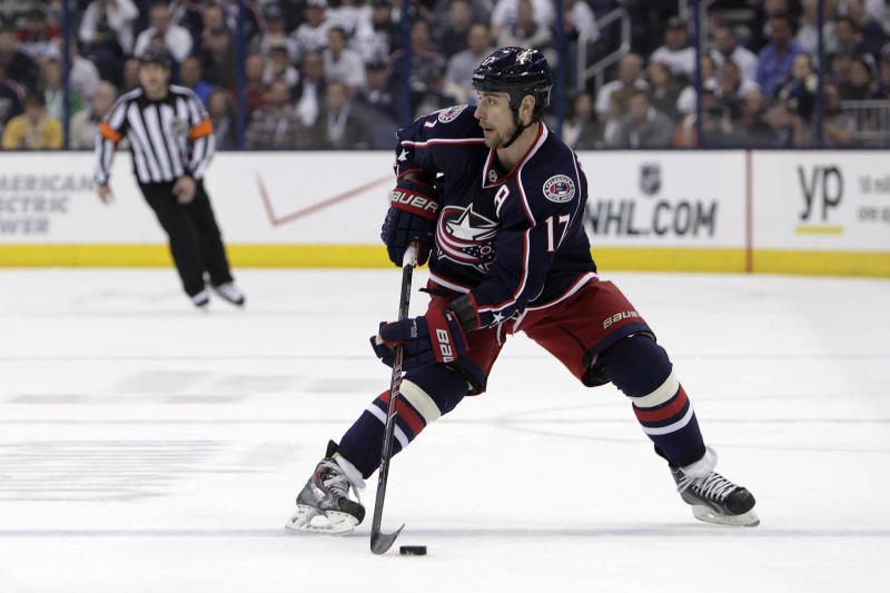 Jackets sign Dubinsky to $35M deal for 6 years