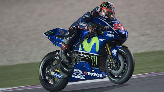 MotoGP returns in Qatar this weekend and Maverick Vinales will have a target on his back after impressing in pre-season for Movistar Yamaha.