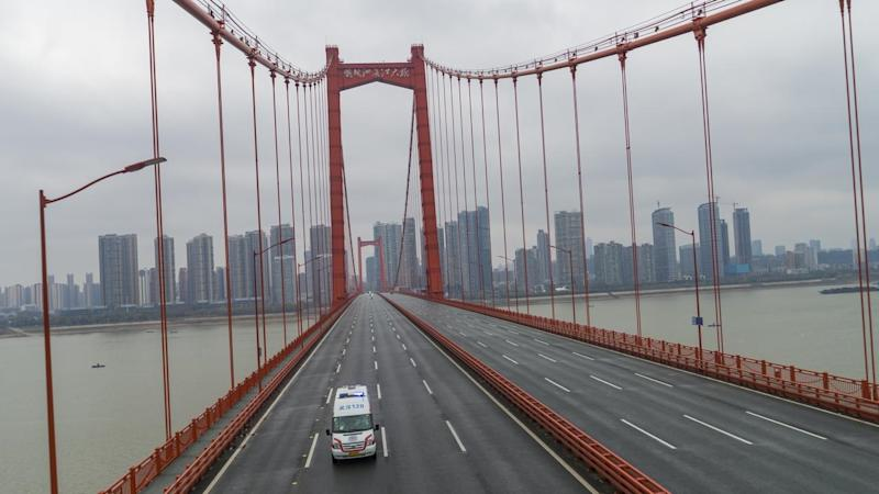 The Chinese city of Wuhan is in virtual lockdown as authorities try to contain a virus outbreak