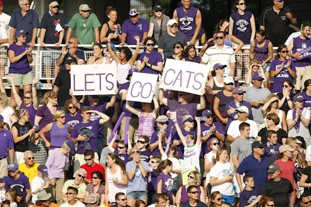 <p><strong>44. Northwestern</strong><br> Trajectory: Up. Wildcats broke into the top 40 for the first time in the five-year period, aided in part by a first-ever contribution from men's basketball. </p>
