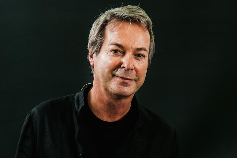 EDINBURGH, SCOTLAND - AUGUST 14: Julian Clary during the Edinburgh International Book Festival on August 14, 2017 in Edinburgh, Scotland. (Photo by Simone Padovani/Awakening/Getty Images)