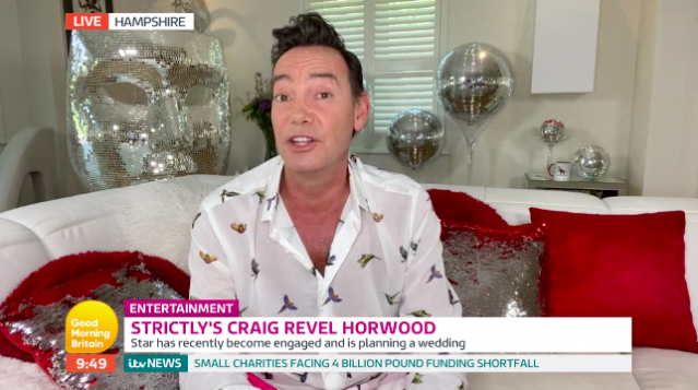 Craig Revel Horwood says 'Strictly' bosses have contingency plans in place. (ITV)