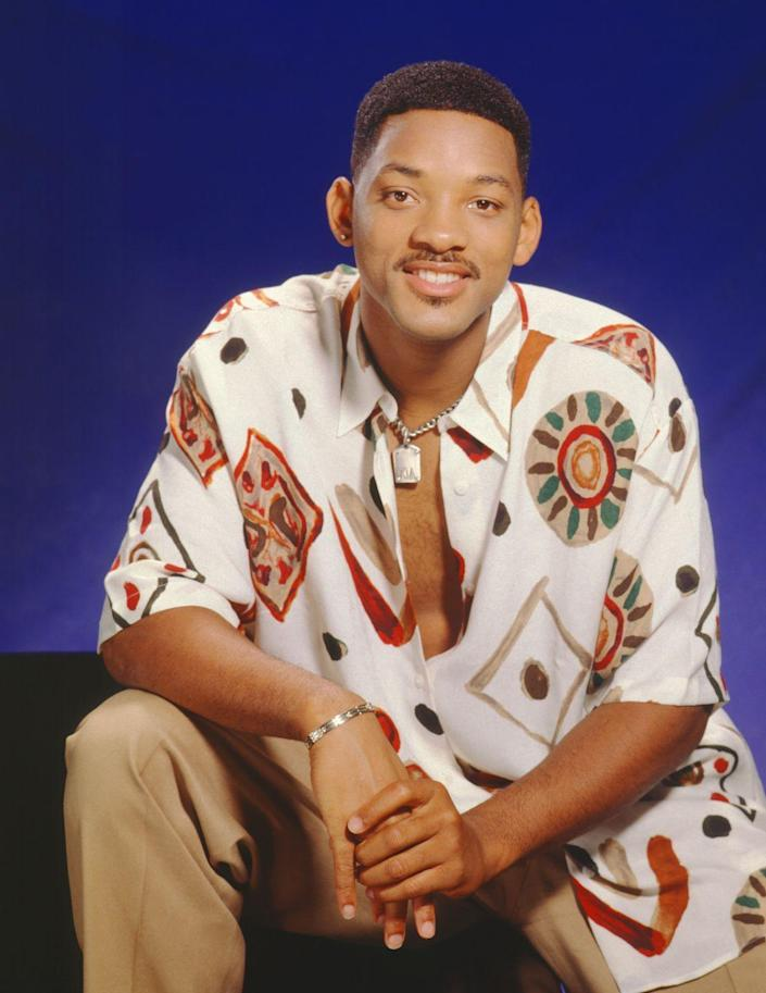 """<p>First movie: Will Smith's first movie was <a href=""""https://www.imdb.com/title/tt0105810/?ref_=nm_flmg_act_70"""" rel=""""nofollow noopener"""" target=""""_blank"""" data-ylk=""""slk:Where the Day Takes You"""" class=""""link rapid-noclick-resp"""">Where the Day Takes You</a>, a 1992 film about teenage runaways on the streets of LA. The role was a departure from Smith's The Fresh Prince of Bel-Air roots, which debuted two years prior when Smith was 21-years-old.</p>"""