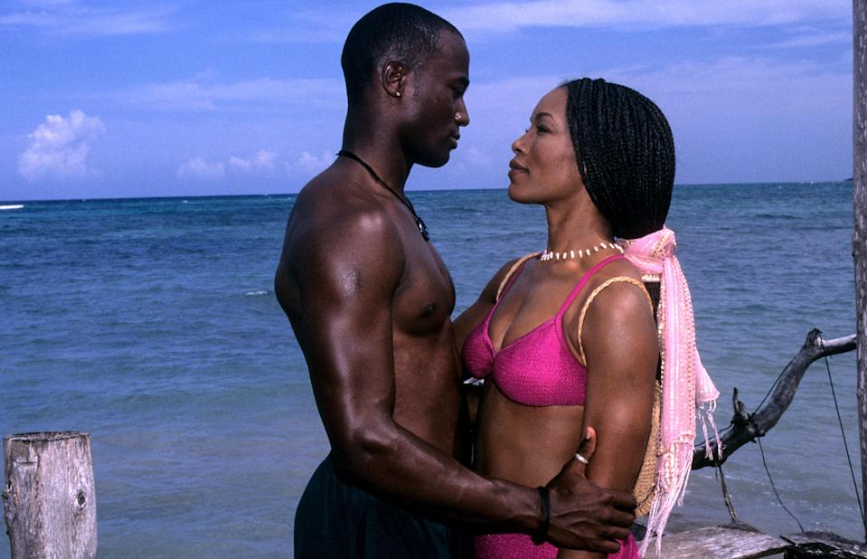 """<p>You can't have a list of the best summer movies and not include vacation classic <em>How Stella Got Her Groove Back</em>. Those are just the rules! The movie stars Angela Bassett as the titular Stella, a successful stockbroker in desperate need of a getaway. So she travels to Jamaica, meets a handsome younger man (Taye Diggs, hello), and soaks up some sun <em>and</em> romance.</p> <p><a href=""""https://www.amazon.com/How-Stella-Got-Groove-Back/dp/B001LGW1LI"""" rel=""""nofollow noopener"""" target=""""_blank"""" data-ylk=""""slk:Available to stream on Amazon Prime Video"""" class=""""link rapid-noclick-resp""""><em>Available to stream on Amazon Prime Video</em></a></p>"""