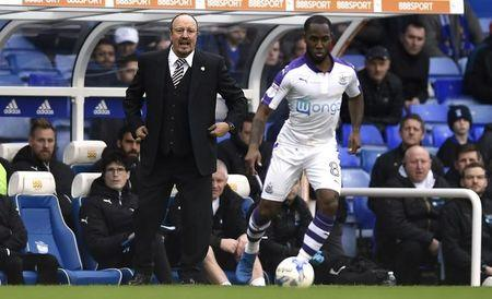 Britain Football Soccer - Birmingham City v Newcastle United - Sky Bet Championship - St Andrews - 18/3/17 Newcastle United Manager Rafael Benitez Mandatory Credit: Action Images / Adam Holt Livepic