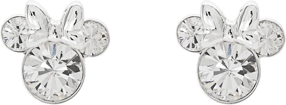 <p>The <span>Minnie Mouse Silver Plated Stud Earrings</span> ($19, originally $25) are stunning!</p>