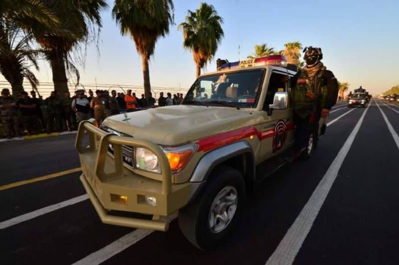 Iraq's PMF holds military parade in Diyala province