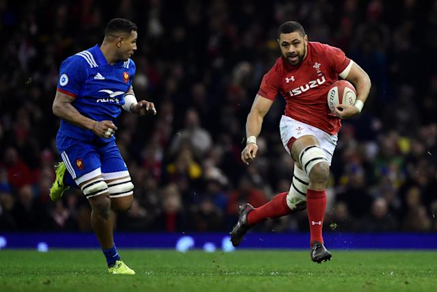 Rugby Union - Six Nations Championship - Wales vs France - Principality Stadium, Cardiff, Britain - March 17, 2018 Wales' Taulupe Faletau in action REUTERS/Rebecca Naden