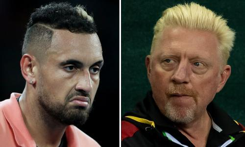 Why are Nick Kyrgios and Boris Becker fighting? Who is the rat and who is the doughnut?