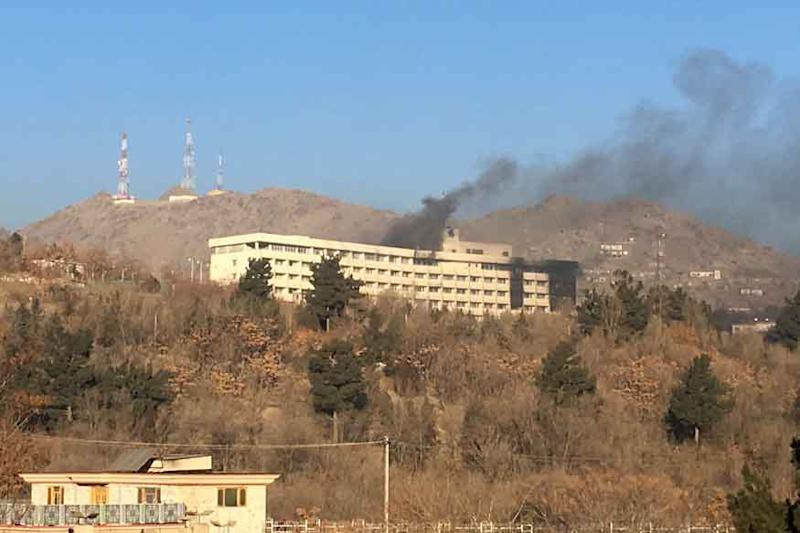 Kabul Intercontinental Hotel Siege Ends After 12 Hours and Six Deaths