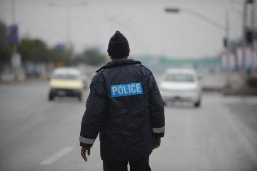 Police man a checkpoint in Islamabad