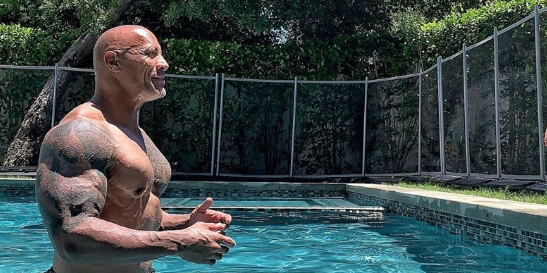 People are outraged over the rock 39 s latest instagram photo - Johnson swimming pool roseville ca ...