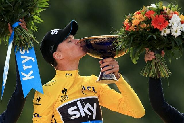 Froome has won four Tour de France title under Sir Dave Brailsford