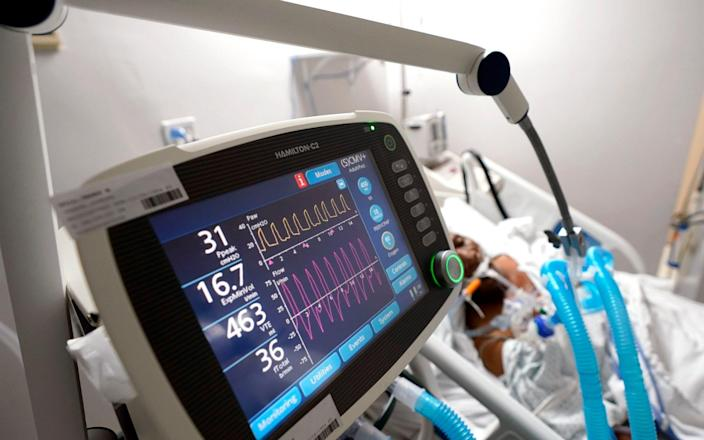 Some of the patients in the trial had been on a mechanical ventilator - AP