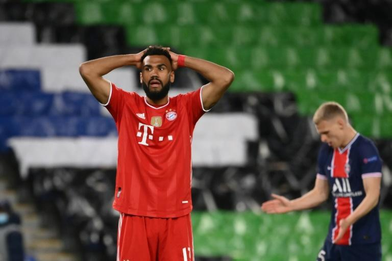 Eric Maxim Choupo-Moting's goal on the night was not enough to take Bayern through to the last four