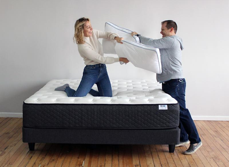 Looks like they just found out about the extra $350 off! (photo: Bear Mattress)