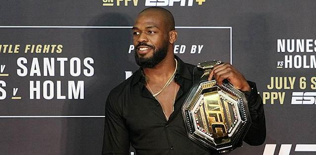 Jon Jones UFC 239 post-fight press conference