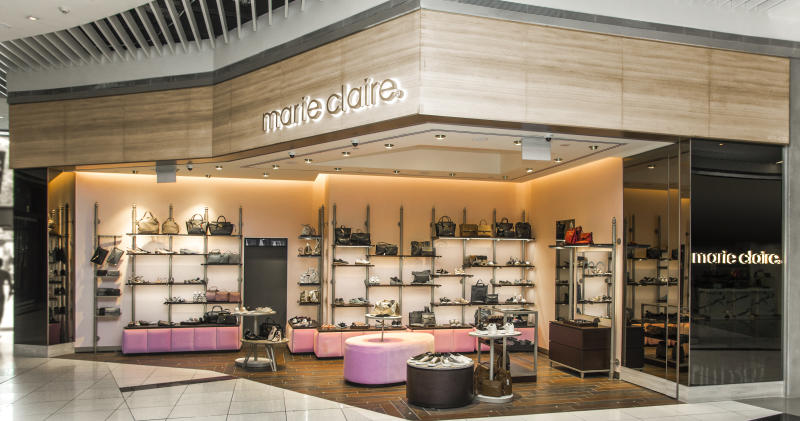 french fashion brand marie claire opens flagship store at suntec city. Black Bedroom Furniture Sets. Home Design Ideas