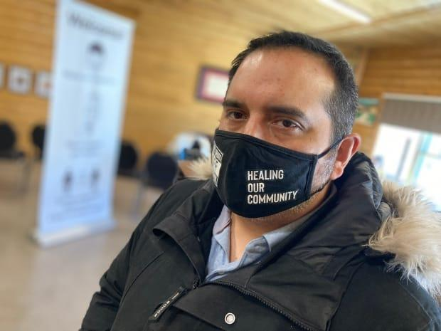 Tobique First Nation Chief Ross Perley said Premier Blaine Higgs should be proud of successful Indigenous-owned businesses, instead of trying to hold them back. (Jacques Poitras/CBC - image credit)