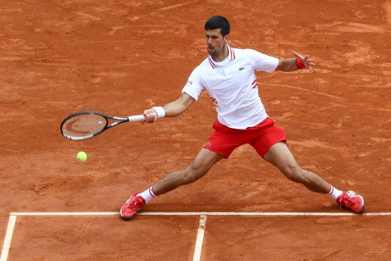 Novak Djokovic made 45 unforced errors in a shock loss to Dan Evans at the Monte Carlo Masters