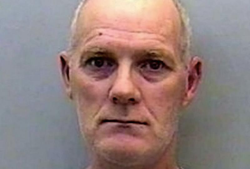 William Tolcher stabbed a fellow inmate to death (Picture: SWNS)