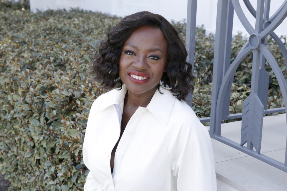BEVERLY HILLS, CALIFORNIA - MARCH 03: Viola Davis joins L'Oréal Paris to celebrate the launch of Age Perfect Cosmetics on March 03, 2020 in Beverly Hills, California. (Photo by Rachel Murray/Getty Images for L'Oréal Paris )