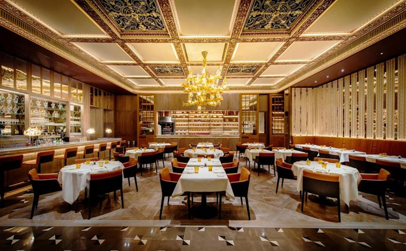 Delightful dining: The Dorchester