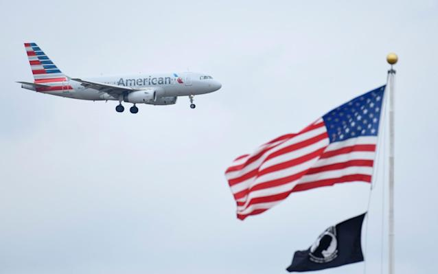 American Airlines flight AA729 from London Heathrow to Philadelphia was forced to land in Dublin - AP