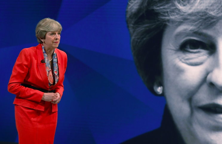 Theresa May faces questions from the audience (Picture: PA)