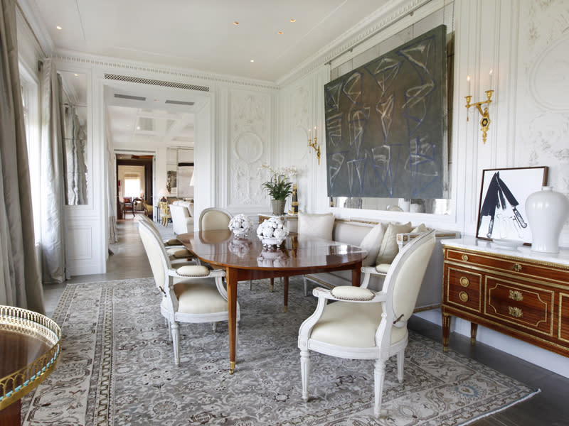 $50 million two-bedroom apartment at Central Park Ritz-Carlton dining area