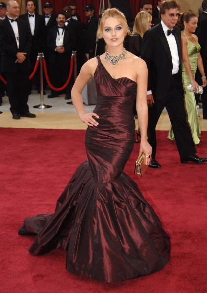 <p>Year: 2006<br />Designer: Vera Wang<br />Cost: Around $39,000<br />This custom-made taffeta gown, featuring a classic fishtail, made history because it was later donated to Oxfam, a charity that works to fight poverty, where it was auctioned off for almost 4,800 pounds. She completed the outfit with a gorgeous necklace from Bvlgari. </p>