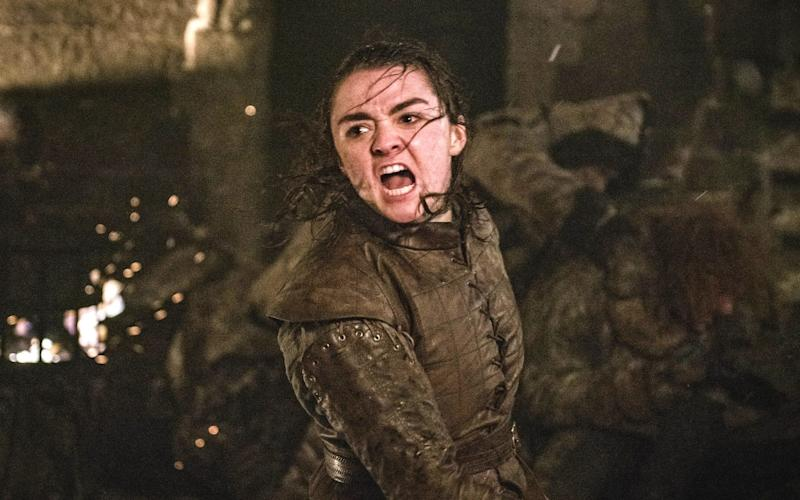 Maisie Williams as Arya Stark - HBO