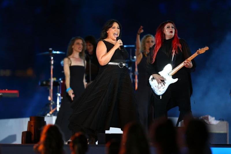 Kate Ceberano also took to the stage. Source: Getty
