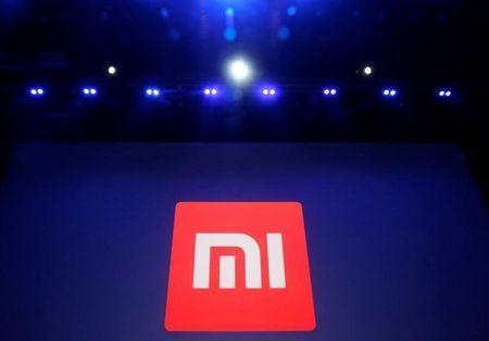 Xiaomi's logo is pictured at a venue for the launch ceremony of Xiaomi's new smart phone Mi Max in Beijing, May 10, 2016. REUTERS/Kim Kyung-Hoon