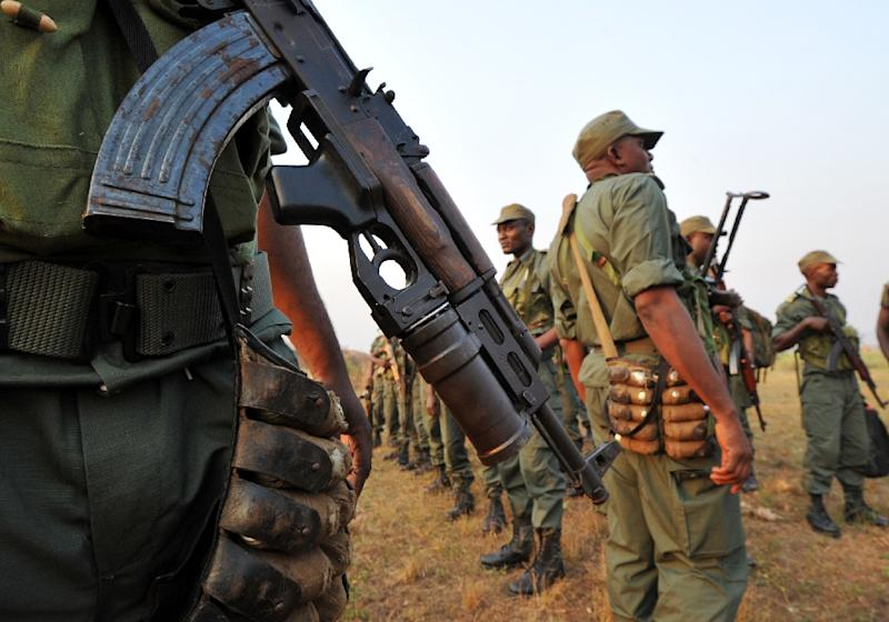 Congolese security forces have increased patrols across the southern areas of Brazzaville (AFP Photo/Sia Kambou)
