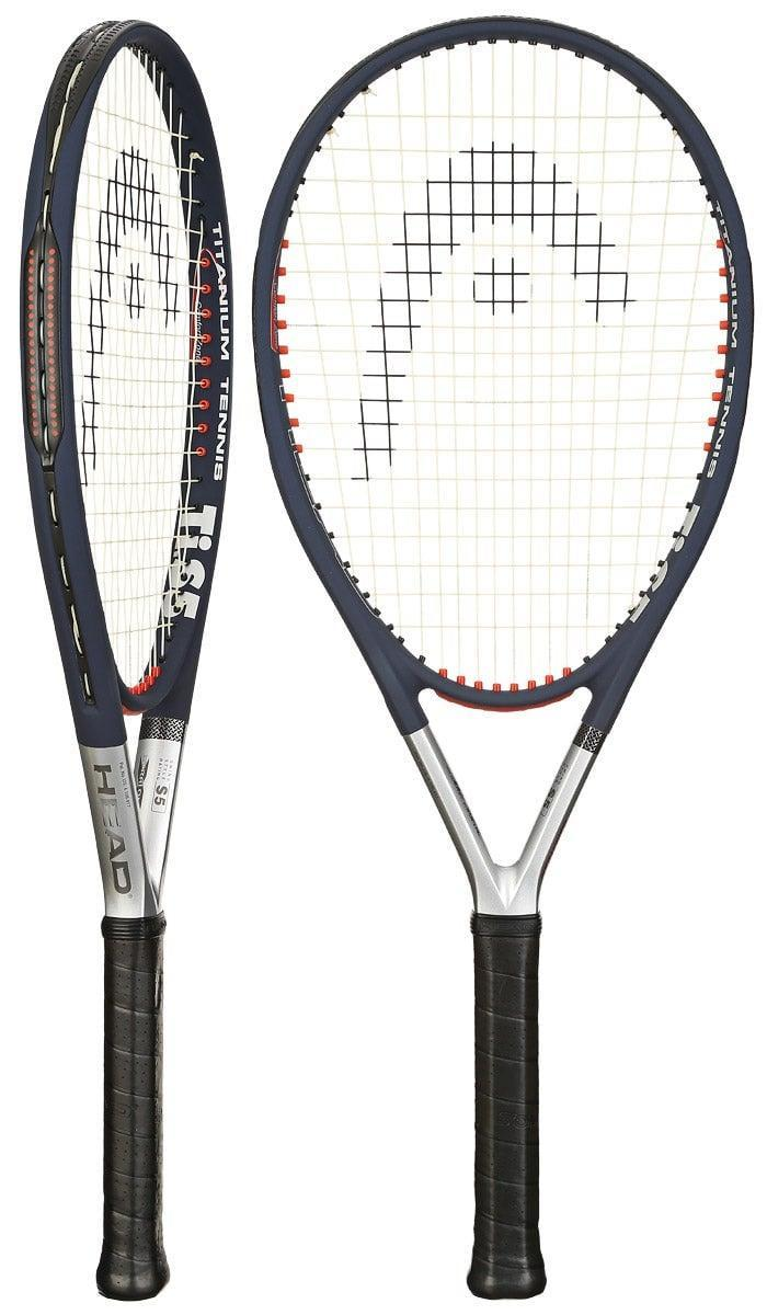 <p>If you're looking to pick up tennis, the first thing you need is a racquet. This <span>Head Titanium Ti.S5 Comfort Zone Racquet</span> ($75) is a great option for beginners; the face is quite large, which will help you make contact with the ball.</p>