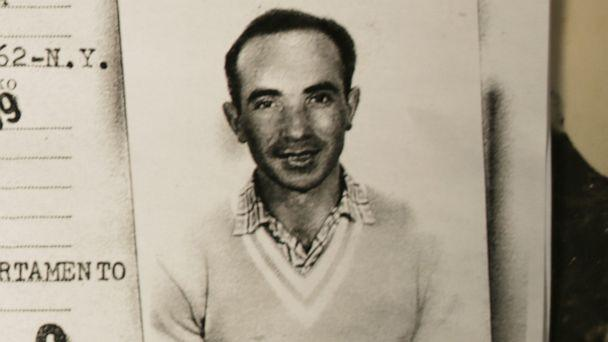 PHOTO: Holocaust survivor Leon Sherman is pictured in a travel document issued in 1959. (Courtesy Leon Sherman)