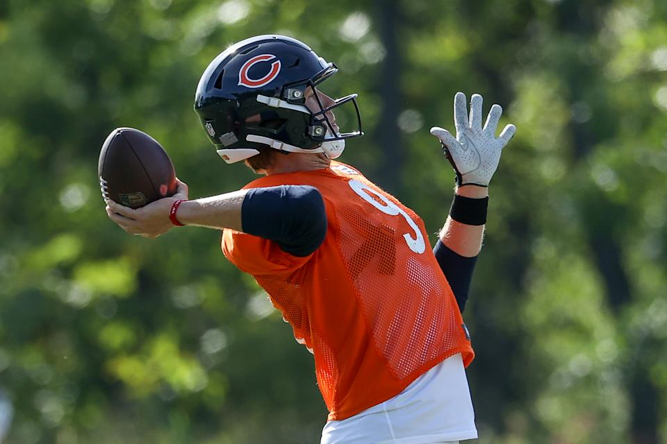 Nick Foles #9 of the Chicago Bears
