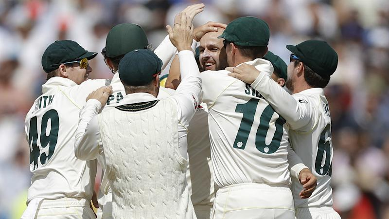 Ashes 2019: Joy of six for Lyon as Australia hammer England to seize initiative